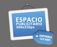 espacio disponible 300 x 250