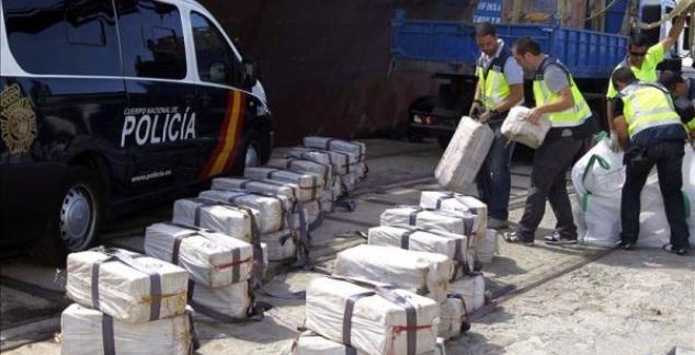 Detienen-en-España-varios-dominicanos-por-345-kilos-de-cocaína