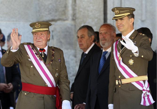 rey-principe-Felipe-primera-vez-juntos-anuncio-abdicacion