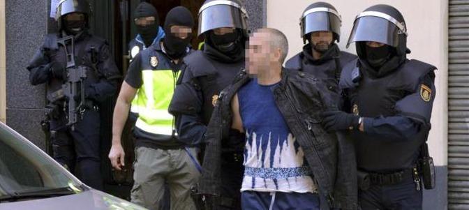POLICIA ESPANOLA DETIENE A YIHAIDISTA