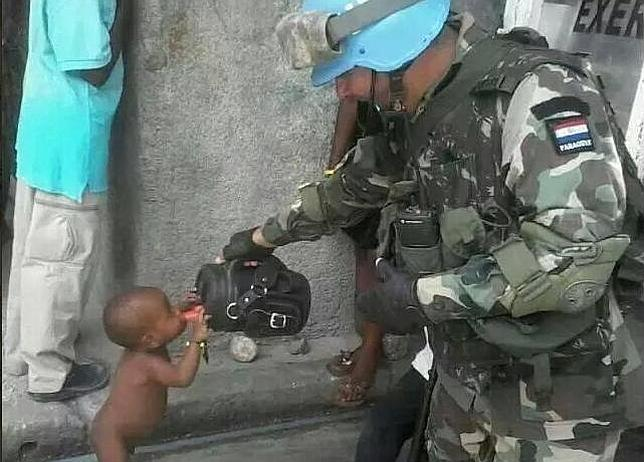 soldado haiti