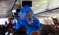 interior del avion ebola punta cana