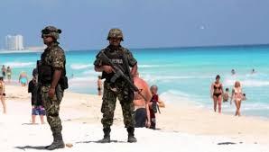 militares en playas mexico